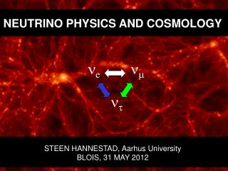 NEUTRINO PHYSICS  AND COSMOLOGY