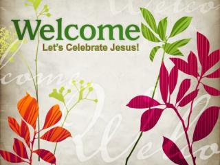 Let's Celebrate Jesus!