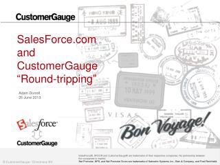 "SalesForce  and CustomerGauge ""Round-tripping"""