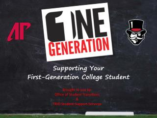 Supporting Your First-Generation College Student