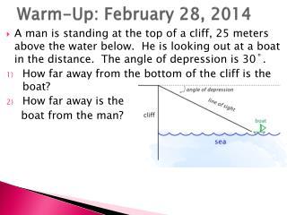 Warm-Up: February 28, 2014