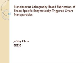 Jeffrey Chou EE235