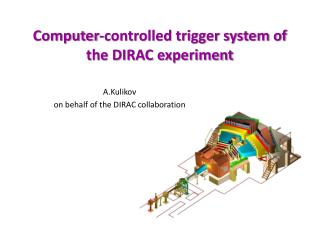 Computer-controlled trigger system of the DIRAC experiment