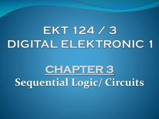 EKT  124  /  3 DIGITAL ELEKTRONIC  1