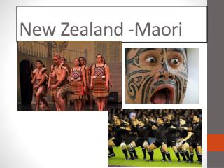 New Zealand -Maori