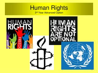Human Rights 3 rd  Year Advanced Option