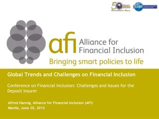 Global Trends and Challenges on Financial Inclusion