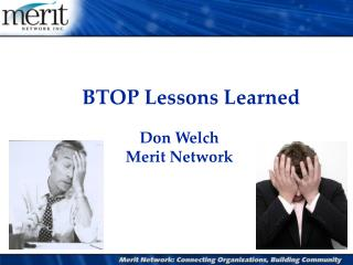 BTOP Lessons Learned