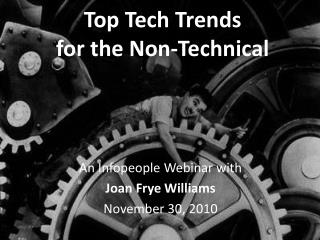 Top Tech Trends for the Non-Technical