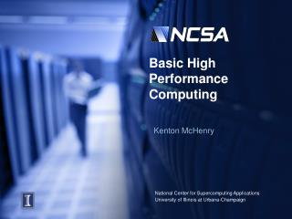 Basic High Performance Computing