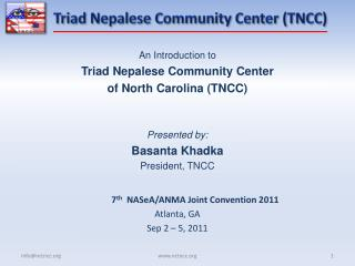 Triad Nepalese Community Center (TNCC)