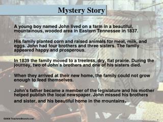 Mystery Story