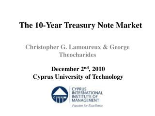 The  10-Year Treasury Note Market