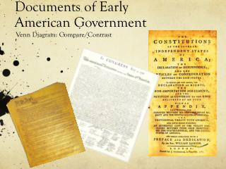 Documents of Early American Government