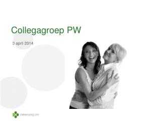 Collegagroep  PW