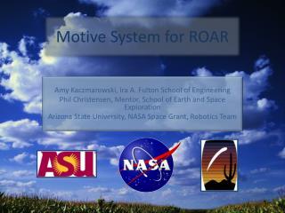 Motive System for ROAR