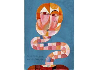 Paul Klee as a soldier, 1916