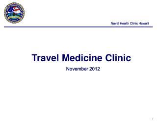 Travel Medicine Clinic