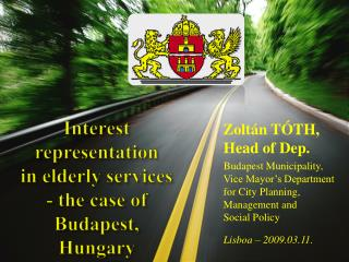 Interest representation  in elderly services - the case of Budapest, Hungary