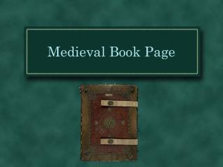Medieval Book Page