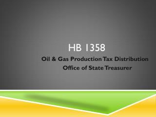 HB 1358