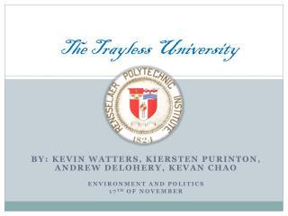 The  Trayless  University