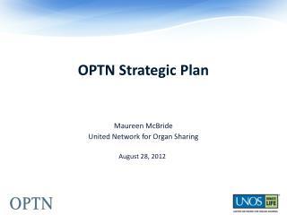 OPTN Strategic Plan