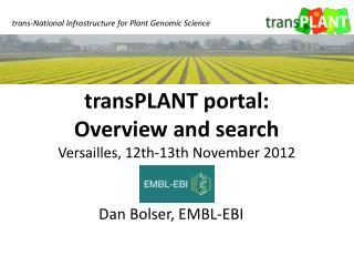Dan  Bolser, EMBL-EBI
