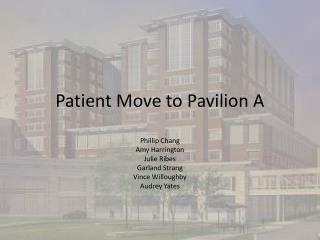 Patient Move to Pavilion A