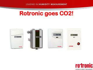 Rotronic goes CO2!