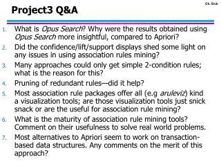 Project3 Q&A
