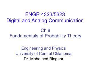 Ch  8 Fundamentals of Probability Theory