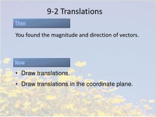 9-2 Translations