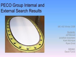 PECO Group Internal and External Search Results