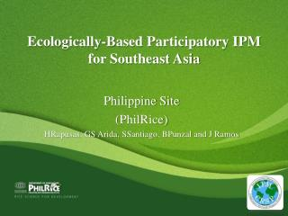 Ecologically-Based Participatory IPM for Southeast Asia