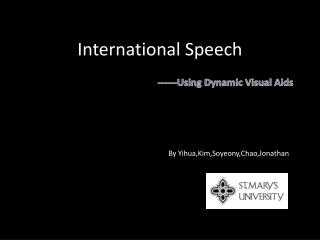 International Speech