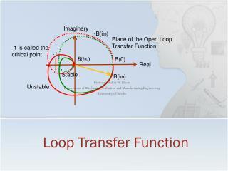 Loop Transfer Function