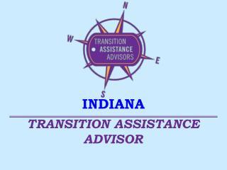TRANSITION ASSISTANCE ADVISOR