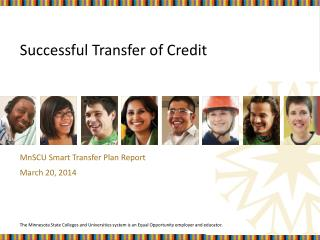 Successful Transfer of Credit