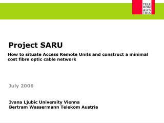 Project SARU