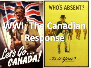 WWI: The Canadian Response