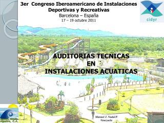 3er  Congreso Iberoamericano de Instalaciones Deportivas y Recreativas Barcelona – España