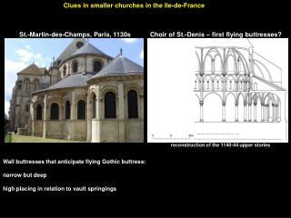St.-Martin-des-Champs, Paris, 1130s