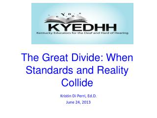 The Great Divide: When Standards and Reality Collide