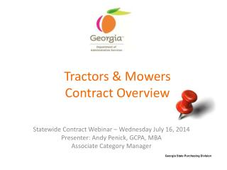Tractors & Mowers Contract Overview