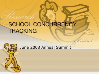 SCHOOL CONCURRENCY TRACKING