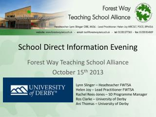School Direct Information Evening