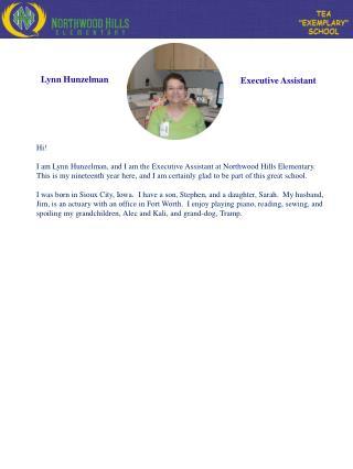 Lynn Hunzelman