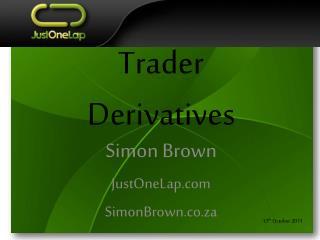 Trader Derivatives