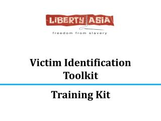 Victim Identification Toolkit